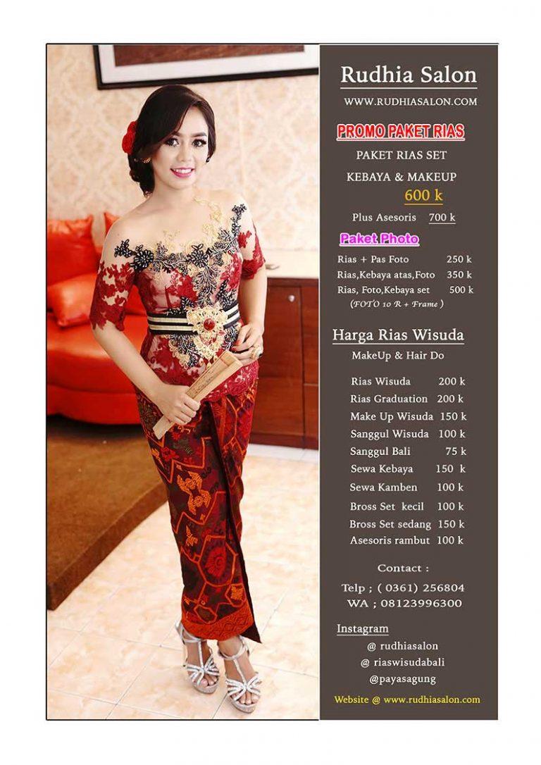 Makeup & Sewa Gaun di Bali – Profesional Salon & Wedding di Bali